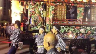 鹿沼ぶっつけ秋祭り2013麻苧町石橋町