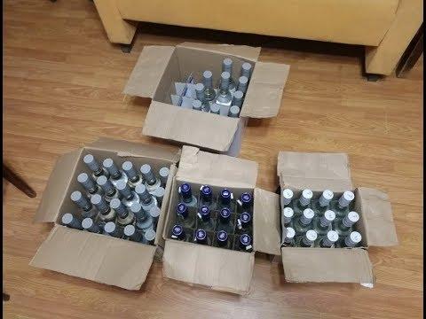 Алкоголь с признаками подделки