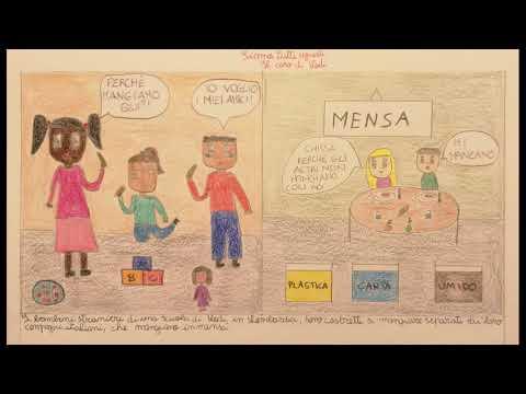 Fumetto sulla non emarginazione su caso di Lodi, e sull'Uguaglianza