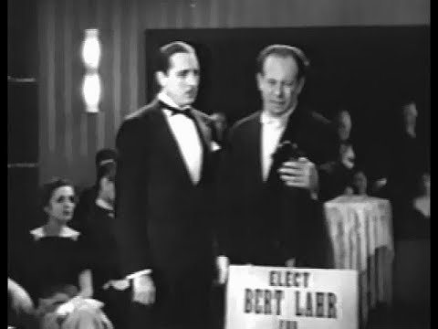 Bert Lahr  Hizzoner 1933