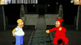 Homero el bueno vs Homero el malo
