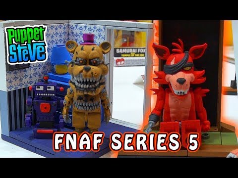 Five Nights at Freddy's Mcfarlane Toys : Office Desk, Right Dresser & Micro Temple of Fox PLAYSET thumbnail