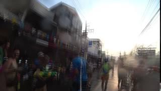 소니 액션캠 X3000 송끄란 영상