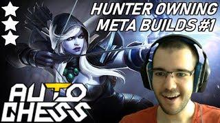 META Builds OWNING - Hunter ☆☆☆ Drow Ranger | Dota Auto Chess Gameplay 88