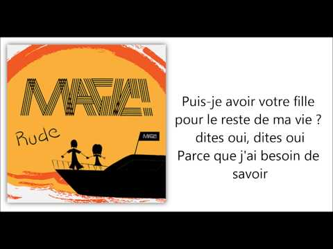♪♫ Rude - Magic [Traduction Française] ♪♫