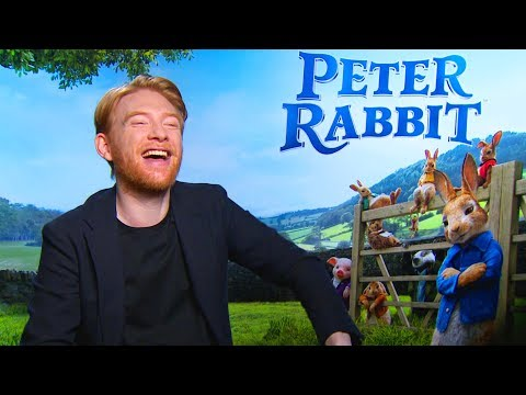 Domhnall Gleeson: Wouldn't want a pet rabbit