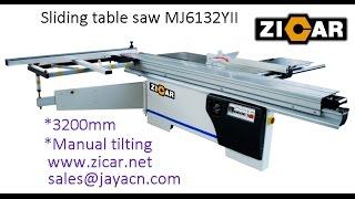 Jaya Sliding Table Saw Works -- Jaya