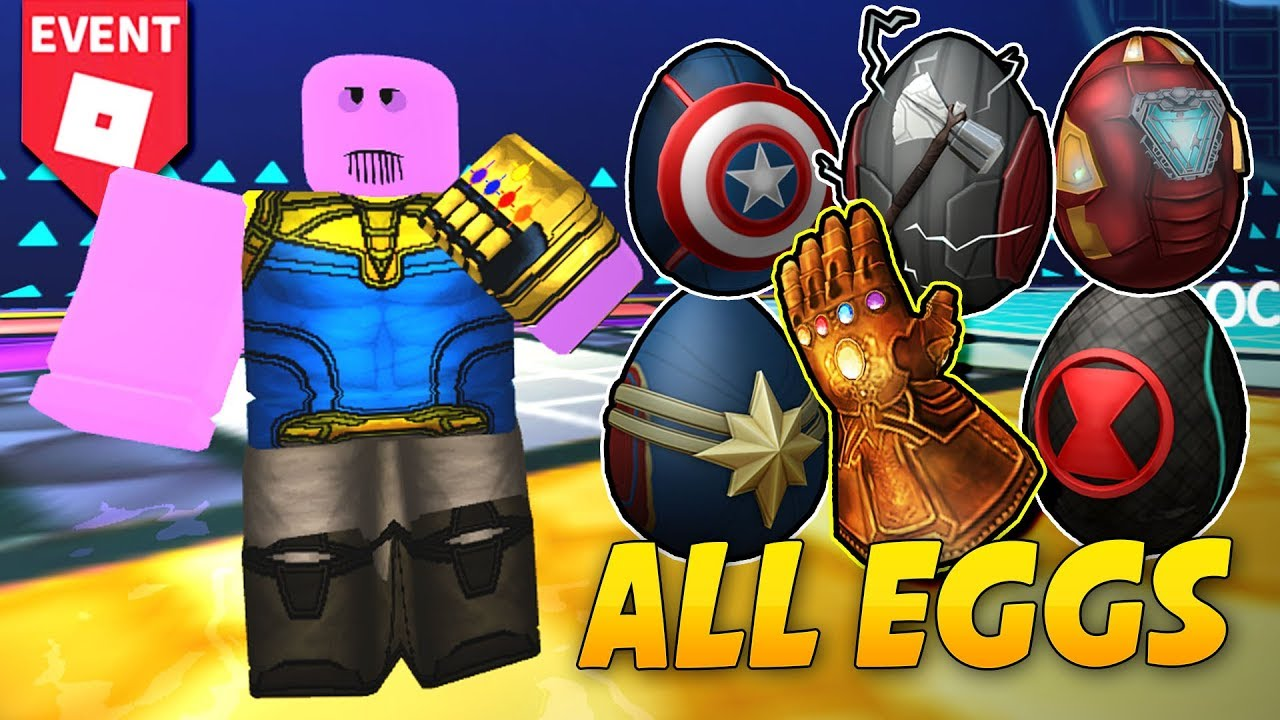 HOW TO GET THE INFINITY GAUNTLET & AVENGER EGGS!! Roblox: Scrambled In Time