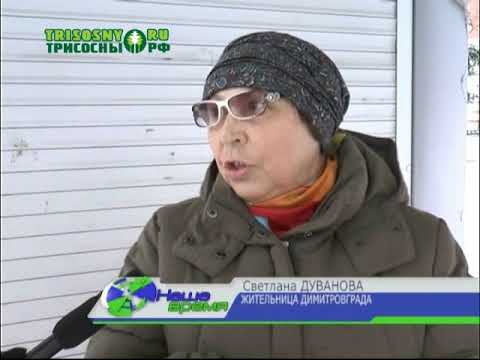 За полторы недели Димитровград замело снегом