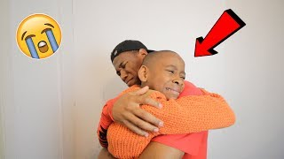 I told him i'm moving out to LA ..**PRANK!** (Emotional)