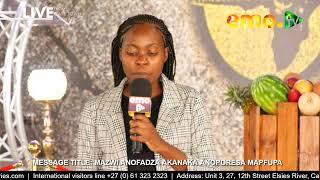 IsiXhosa, French & Shona Preaching Translations 22.03.2020