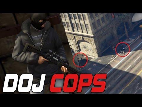 Dept. of Justice Cops #60 - Sniper Attack (Criminal)