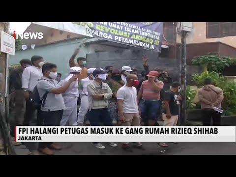 Fpi Tolak Rumah Habib Rizieq Shihab Disemprot Disinfektan, Jakpus - Inews Sore 22/11