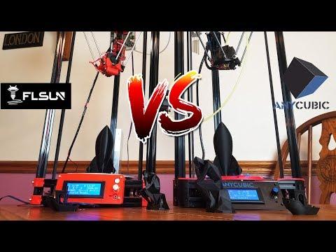 Anycubic Kossel Vs FLSUN Delta 3D Printer.  Best Cheap Delta Printer?