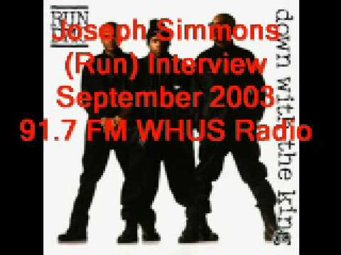 "Run DMC ""Down With The King"" Live on WHUS September, 1993"