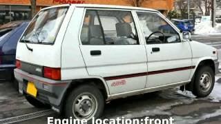 2001 Mitsubishi Minica Equipment Specification Acceleration Speed Specs Engine...