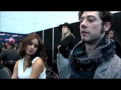 The Magicians  Summer Bishil & Hale Appleman  NYCC 2015