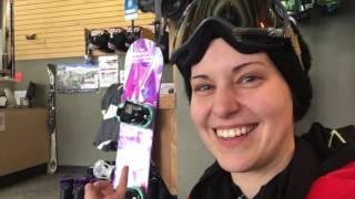 Finally Snowboarding!! - 2016 VLOGMAS DAY 7!
