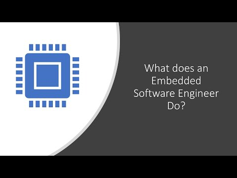 What Does An Embedded Software Engineer Do?