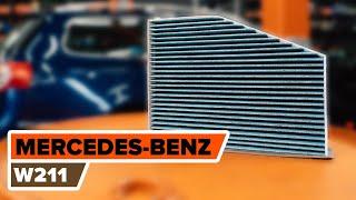 Hvordan bytte Oljefilter MERCEDES-BENZ E-CLASS (W211) - online gratis video