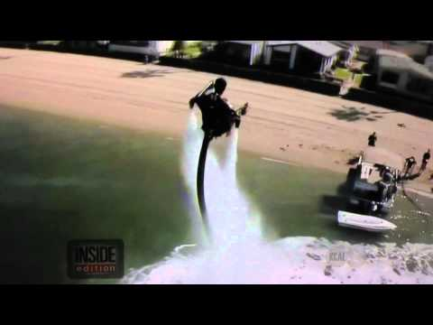 Inside Edition Reports on Newport to Catalina World Record Jetpack Flight