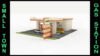 Wood Toy Gas Filling Station Plans Cnc Laser Cutting