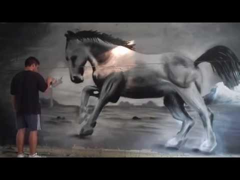 Horse graffiti - unfor