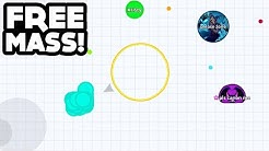 YOU CAN'T SEE ME! - AGAR.IO MOBILE