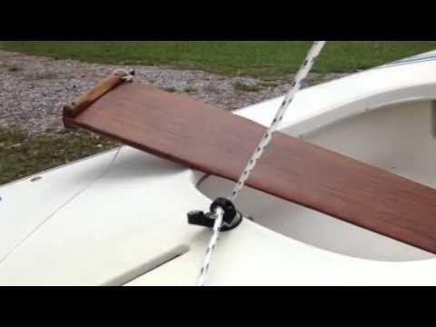 Sunfish Sailboat Rigging Part 2