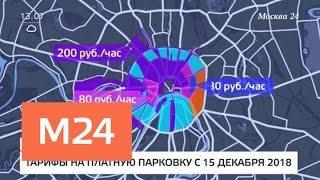 В центре столицы начали действовать новые тарифы на парковку - Москва 24