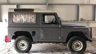 Restauration Land Rover 90 Partie 8