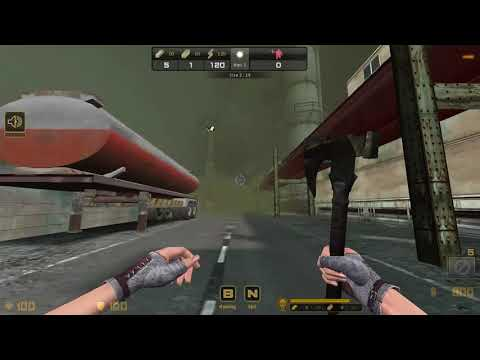 [FPS]17 - CSO Zombie Shelter | Deasert Plant | SOLO | Indonesia HD