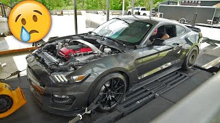 Barra Swapped GT350 Hits the DYNO! (Didn't go so well...)