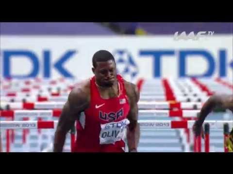 Uncut - 110m Hurdles Men Final Moscow 2013
