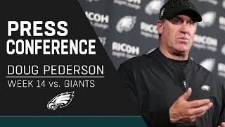 Doug Pederson Discusses the Eagles' Team Win Over the Giants | Eagles Press Conference