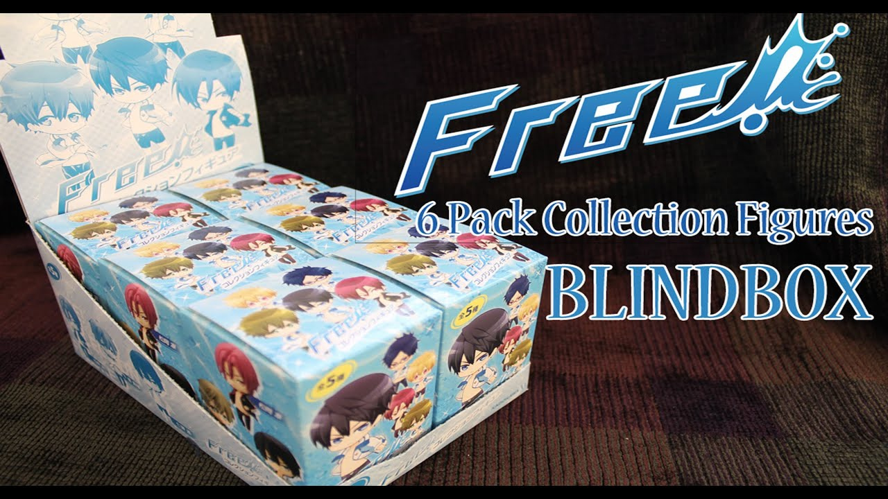 a815febe706 BLINDBOX Opening - Free! Iwatobi Swim Club - Collection Figure 6 ...