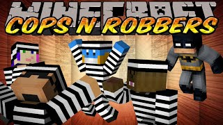 Minecraft Mini-Game : Cops N Robbers - I