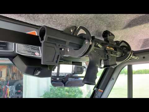 diy-super-strong-locking-gun-rack-for-can-am-defender-w/-cab-santa-cruz-gun-locks-sc-6