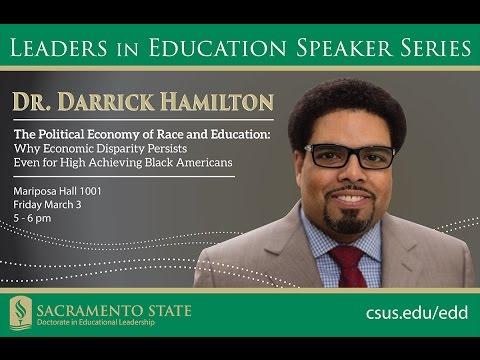 Darrick Hamilton: The Political Economy of Race and Education