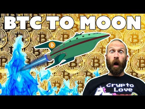 BTC To Moon - Is Bitcoin Set to Explode???