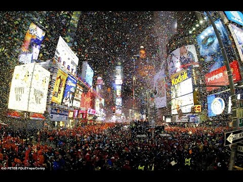 New Years Eve, Times Square   2004