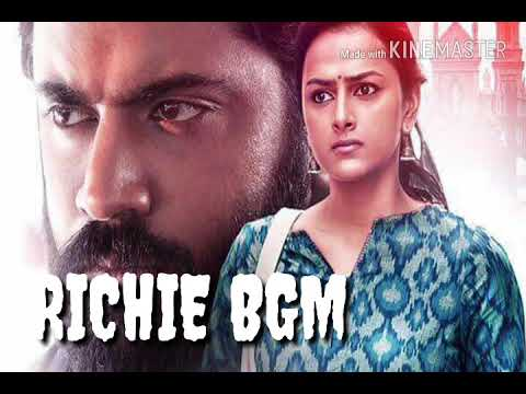 Richie Movie Bgm | Theme Song  | Nivin Pauly | Sraddha Sreenath | Prakash Raj