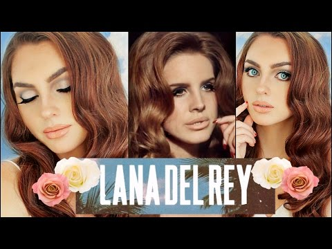 LANA DEL REY Makeup & Hair Tutorial | Born To Die | 60's🌼