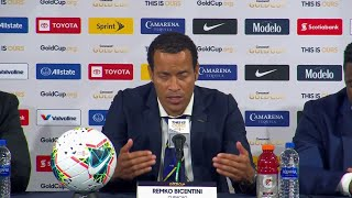 Press Conference: Remko Bicentini - United States (1) - (0) Curacao - Gold Cup 2019