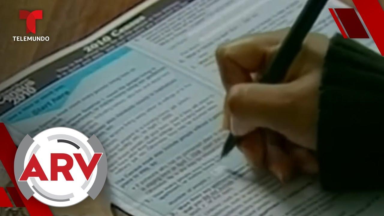La oficina del Censo 2020 acorta por un mes la recolección de datos | Al Rojo Vivo | Telemundo