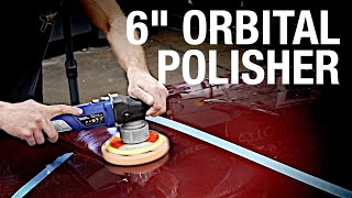 "Must-Have 6"" Orbital Polisher for Detailing! Get that Mirror Shine! Eastwood"
