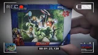 Распаковка и Обзор Пазлов Puzzle Marvel =Мстители= [Stepp Puzzle 54]