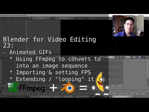 Adding Animated GIFs into Blender's Video Sequence Editor