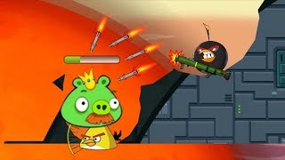 Angry Birds Ultimate Battle - BOMBER AND MATILDA ENDING ALL BAD PIGGIES IN FINAL BATTLE!