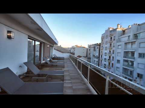 Superior Penthouse Apartment for rent in Central Cannes